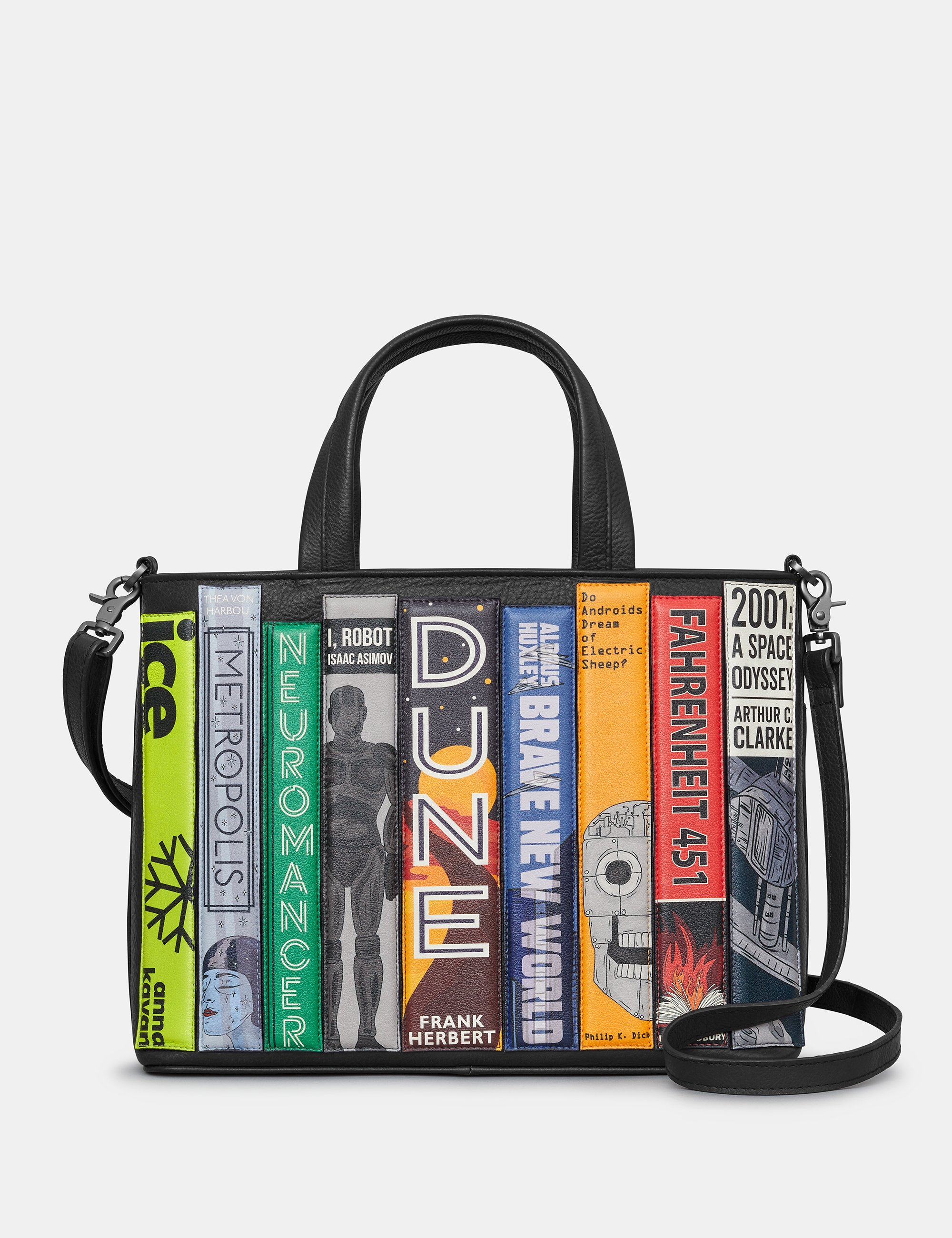 Black Sci-Fi Bookworm Multiway Grab Bag