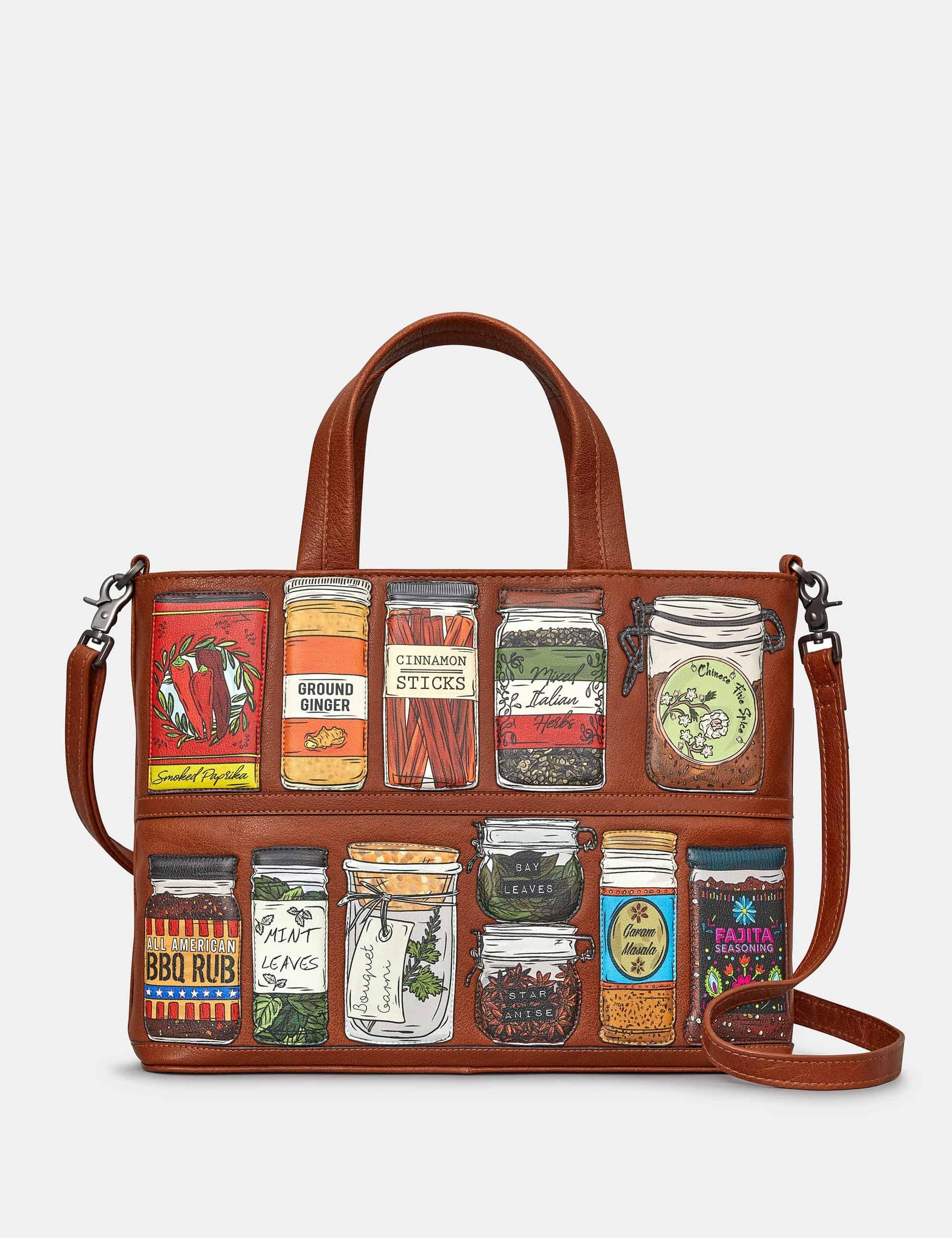 Brown Yoshi Spice of Life Multiway Grab Bag